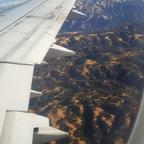 Kurz vor der Landung in Oakland