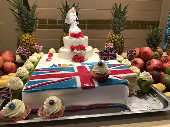 Hochzeitskuchen für Prinz Harry samt Gattin im Mai 18
