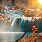 Herbststimmung im Krka Nationalpark