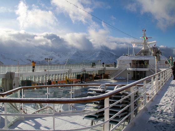 Traumwetter im Altafjord