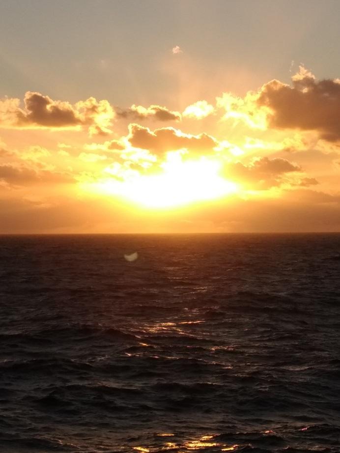 Karibischer Sonnenaufgang