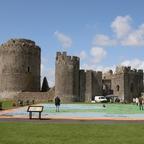 Pembroke Castle im Südwesten von Wales