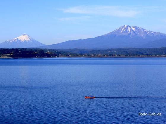 Die Vulkane von Puerto Montt