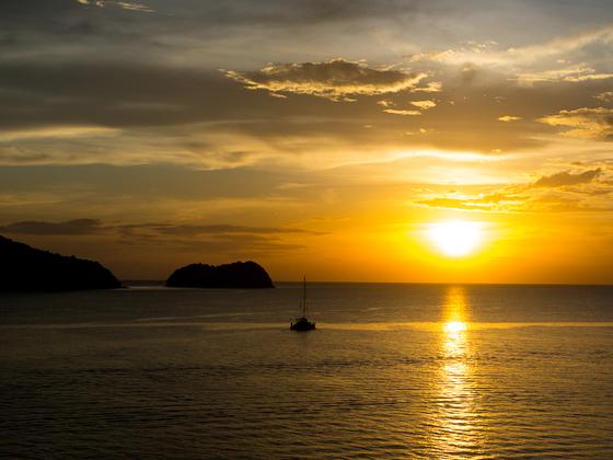Langkawi Sonnenuntergang