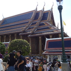Bangkok - Wat Pran Kheo innerhalb des Grand Palace