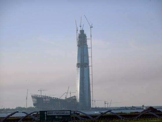 14_St.Petersburg - Gazprom Areal und NICHT Stadion für die Fußball WM 2018