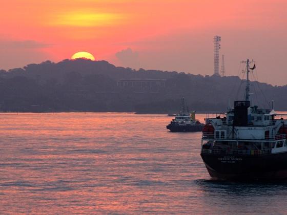Kurz vor Singapur