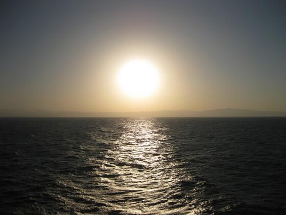Tansasien 2014 - Die Sonne geht auf