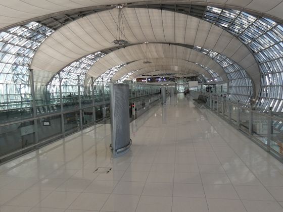 Bangkok - Flughafen Suvarnabhumi