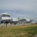 AIDAcara in Tallinn