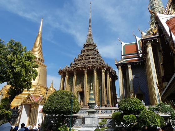 Bangkok - Wat Pran Kheo (königliches Kloster innerhalb des Grand Palace)