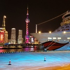 AIDAbella in Shanghai am 31.03.2019