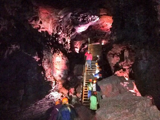 Raufarhólshellir Lava Tunnel