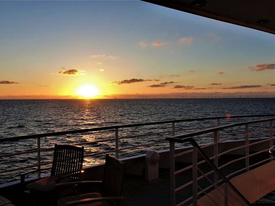 25.09.2020 heute wäre unser letzter Abend an der Ocean Bar auf der AIDAvita gewesen