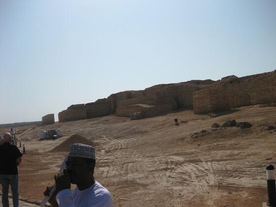 Salalah - Ausgrabungsstätte Sumhuram