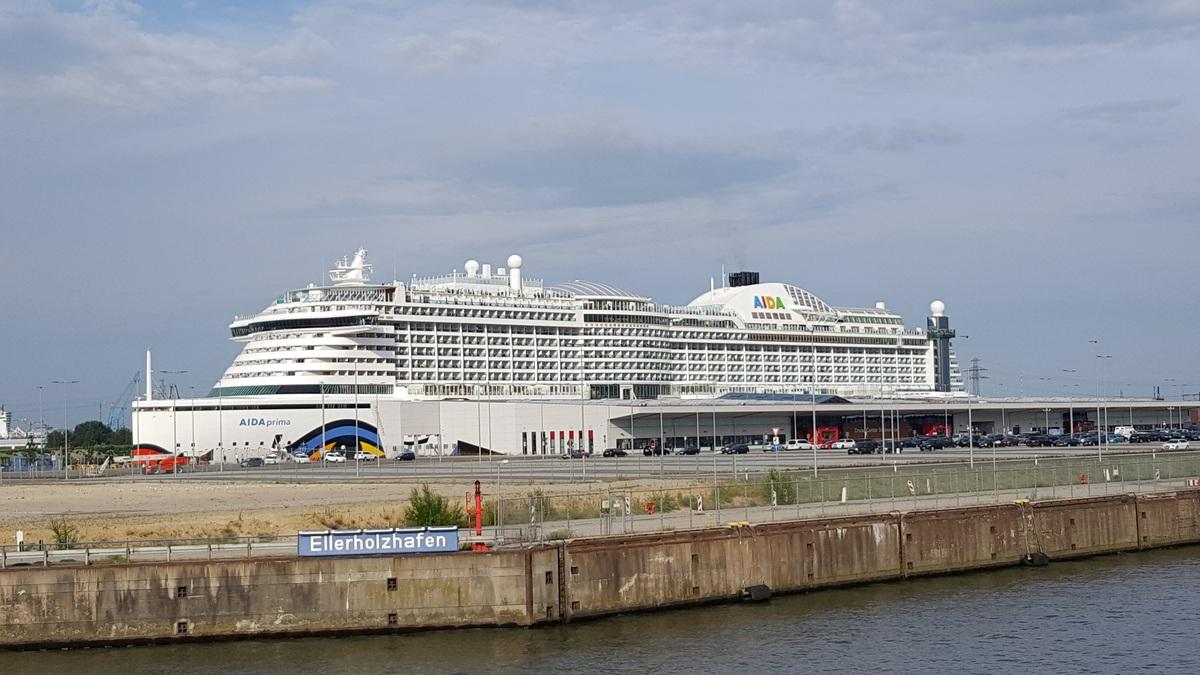 AIDAprima Hafen Hamburg 23-07-2016