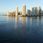Miami in der Abendsonne