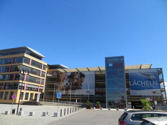 AIDA-Zentrale im Rostocker Stadthafen