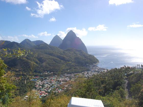 st Lucia karibik