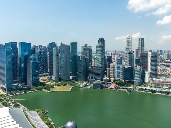 Singapur - Auf dem Marina Bay Sands1