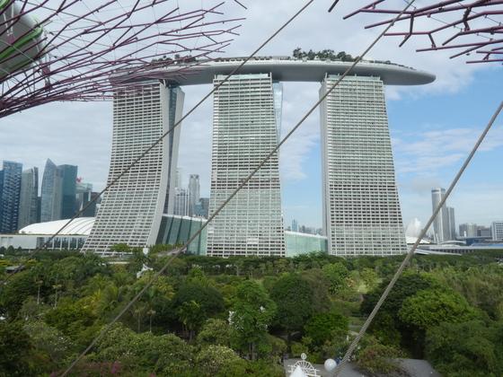 Marina Bay Sands Hotel, Singapur