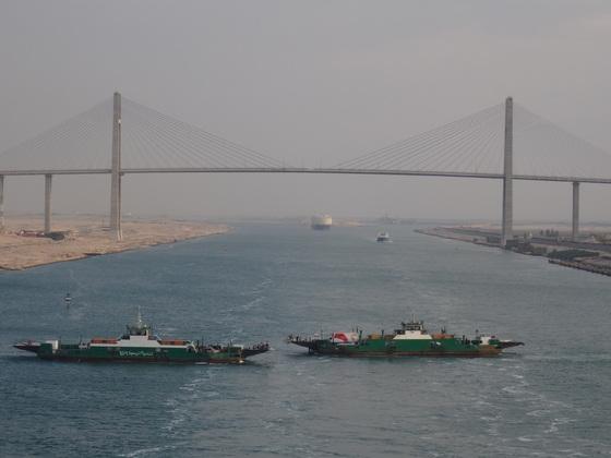 AIDAsol, Suezkanal - Passage