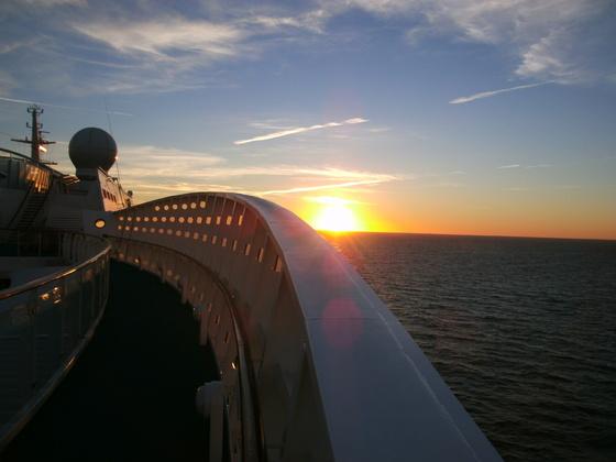 Auf dem Seeweg ins Baltikum...
