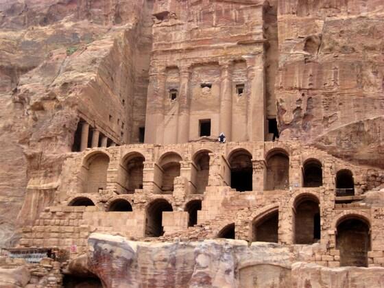 """Petra, ein Teil der """"Königswand"""""""