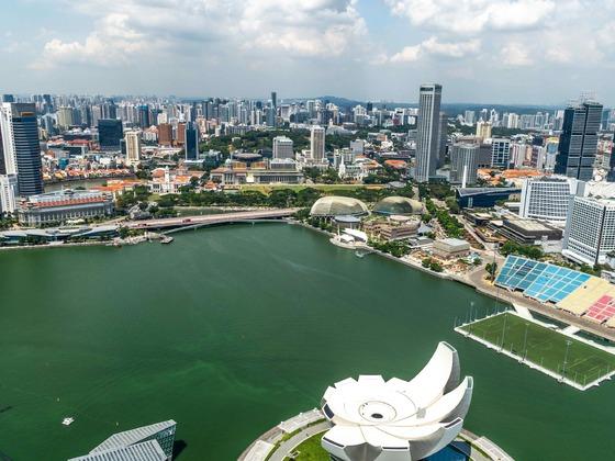 Singapur - Auf dem Marina Bay Sands2
