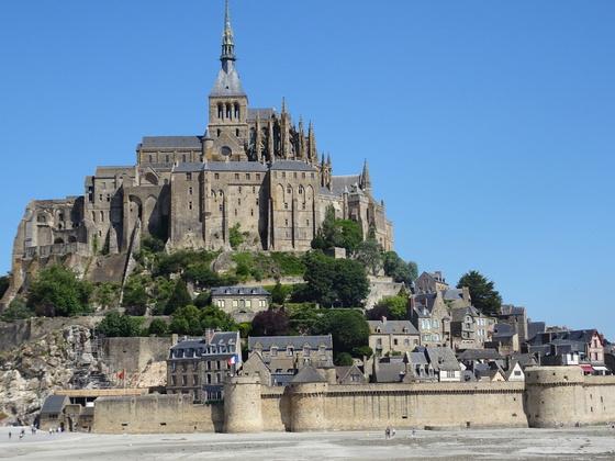 Fahrt von Le Havre zum Mont Saint Michel