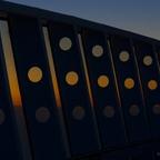 Sonnenaufgang auf Deck 16