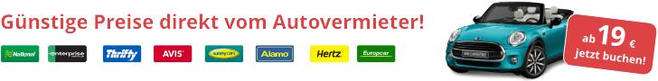 Autobooker Mietwagen suchen & buchen